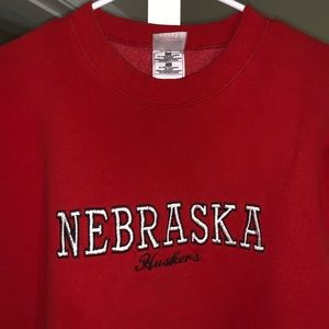 Nebraska Husker crewneck sweatshirt